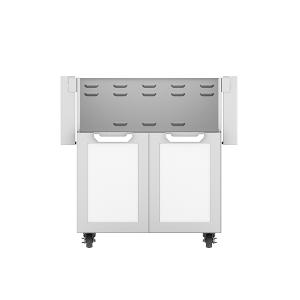 """Hestan - 30"""" Hestan Outdoor Tower Cart with Double Doors - GCD Series - Froth"""