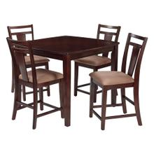 Brentwood 5 Piece Dining Set (cherry)