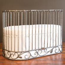 View Product - Jadore Crib Cradle Pewter