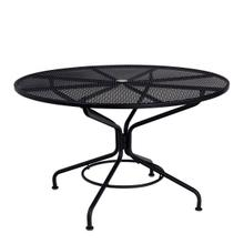 """See Details - Mesh Contract+ 48"""" Round Umbrella Table"""
