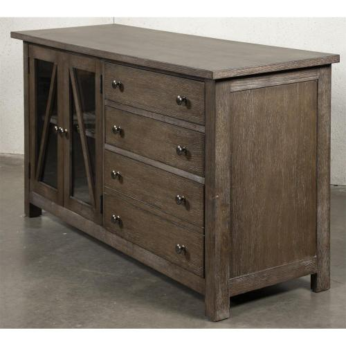 Sheffield - Credenza - Rich Tobacco Finish