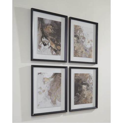 Hallwood Wall Art (set of 4)