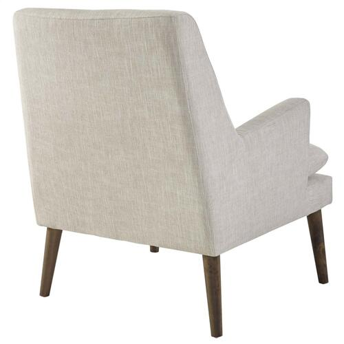 Leisure Upholstered Lounge Chair in Beige