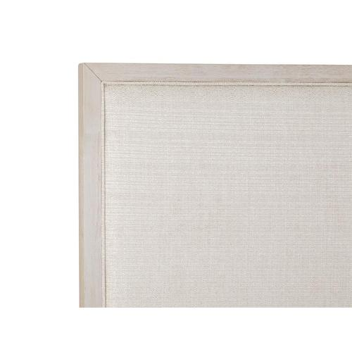 Magnussen Home - Complete King Panel Bed w/Uph./PU Fretwork HB
