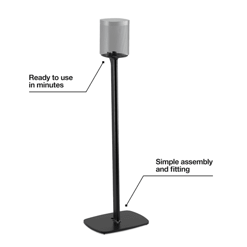 Black- Flexson Floor Stand