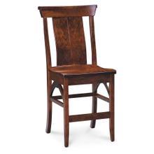 "View Product - B&O Railroad Trestle Bridge Stationary Barstool, 30"" Seat Height / Fabric Cushion Seat"