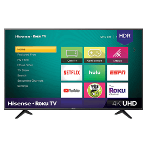 """Gallery - 65"""" Class - R7 Series - 4K UHD Hisense Roku TV with HDR (2018) SUPPORT"""