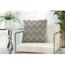 "Life Styles Dc173 Light Grey 20"" X 20"" Throw Pillow"