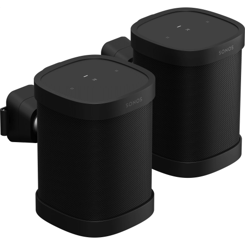 Black- Sonos Wall Mount (Pair)