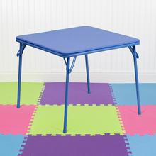 View Product - Kids Blue Folding Table