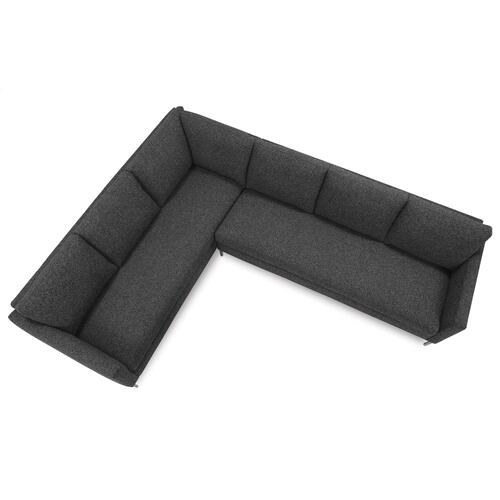 Rowe Furniture - Modern Mix Plain Back Sectional Sofa