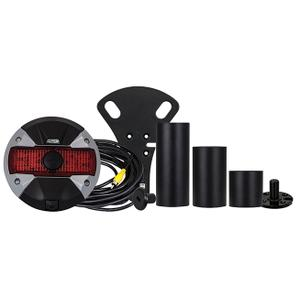 Spare Tire Rear View Camera and Light System for 2007-Up Jeep Wrangler