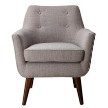 Clyde Beige Linen Chair