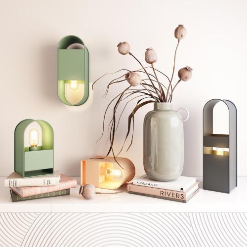 Tov Furniture - Arther Green Table Lamp