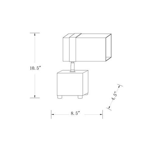 "Lennox LNN-001 10.75""H x 9""W x 4.25""D"