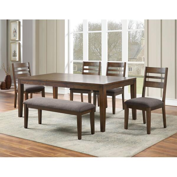 See Details - Stratford 5-Piece Dining Set (Table & 4 Side Chairs)