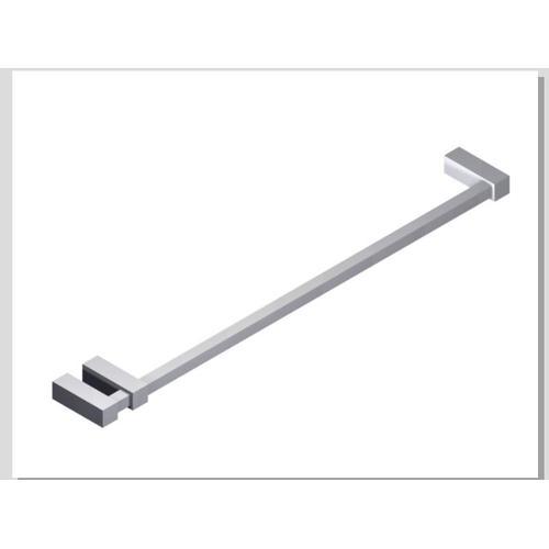 """Loft 24"""" Double Post Towel Bar SQU Chrome"""