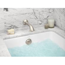 See Details - Small Rectangular Air Bathtub - Stucco White
