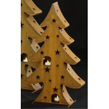 Medium Rustica Tree w/ Candle Holders