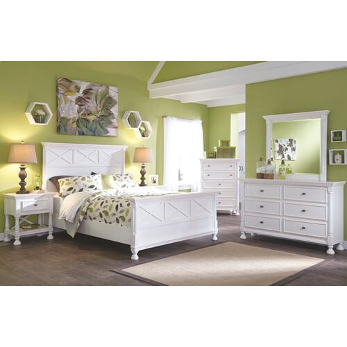 Kaslyn Queen Panel Bed