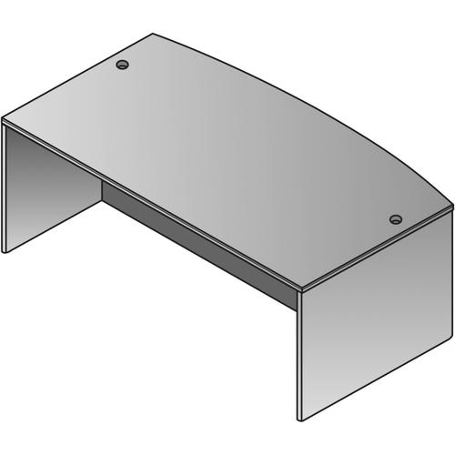 Bow Top Desk Shell-72 X 36