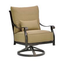 View Product - Madrid High Back Cushioned Lounge Swivel Rocker
