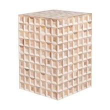 See Details - Tabla Square Stool 3D Pattern