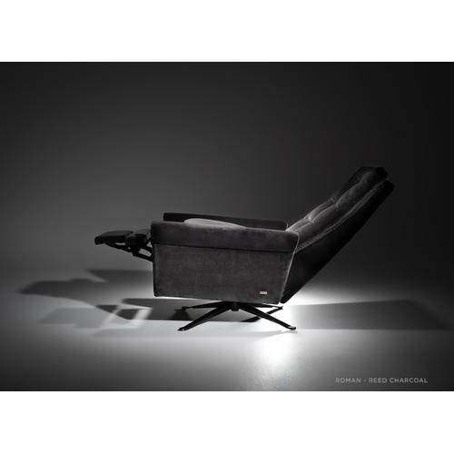 Roman - Power Recliner with Built-In Comfort Options - American Leather