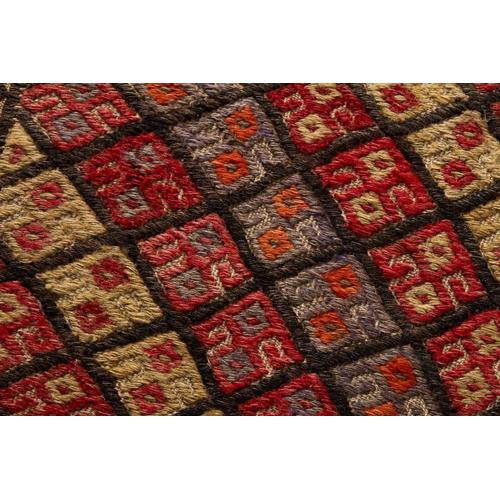 0351180022 Vintage Turkish Rug Wall Art