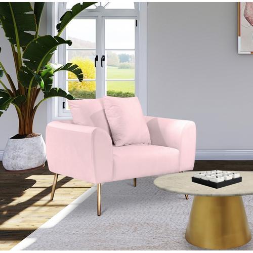 "Quinn Velvet Chair - 40"" W x 31.5"" D x 34.5"" H"