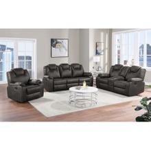 See Details - Dorado Gray Reclining Sofa, Loveseat & Chair, M9730