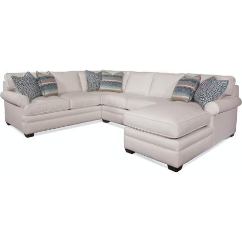 Braxton Culler Inc - Kensington Three Piece Chaise Sectional