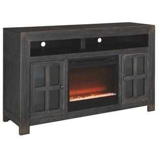 """See Details - Gavelston 60"""" TV Stand With Electric Fireplace"""