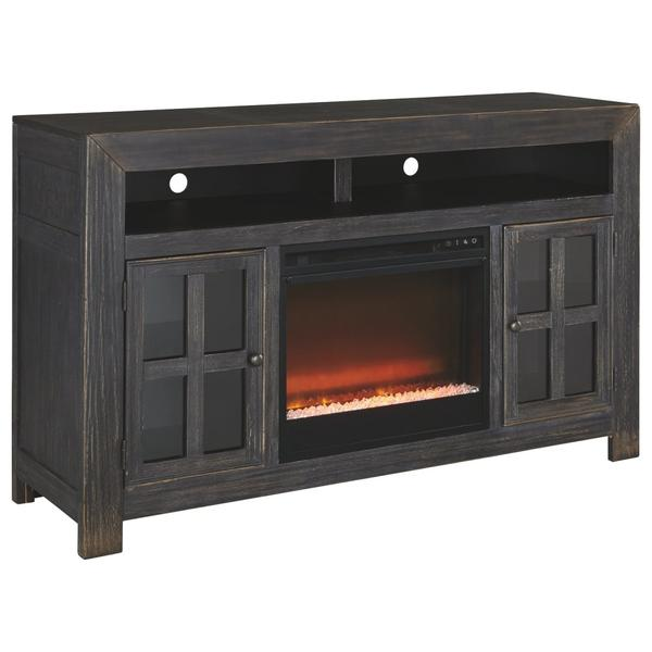 "Gavelston 60"" TV Stand With Electric Fireplace"