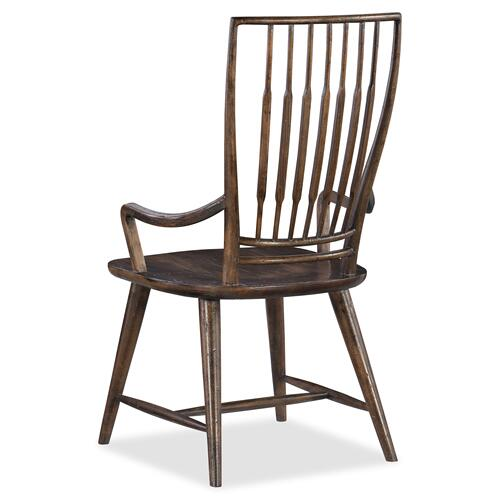 Roslyn County Spindle Back Arm Chair - 2 per carton/price ea