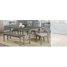 Dining Table & 4 Chairs + Bench