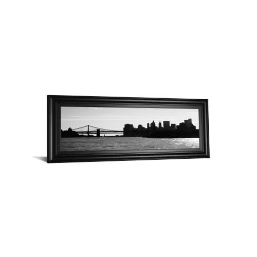 """""""Ny Scenes I"""" By Jeff Pica Framed Print Wall Art"""