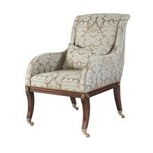 The Sabre leg Upholstered Chair