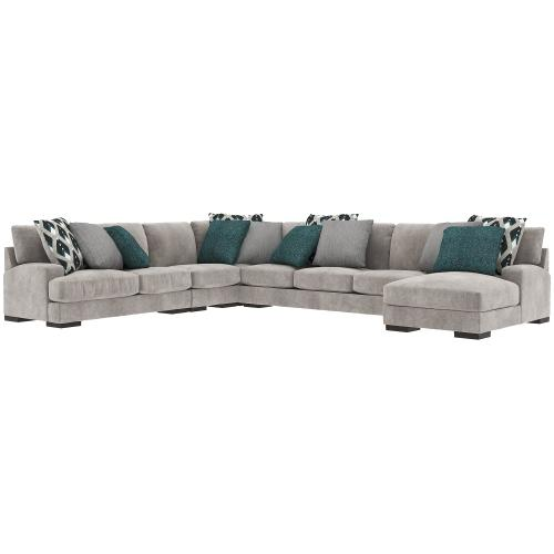 Bardarson 5-piece Sectional With Chaise