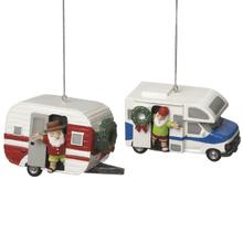 RV & Camper Ornaments (2 asstd)