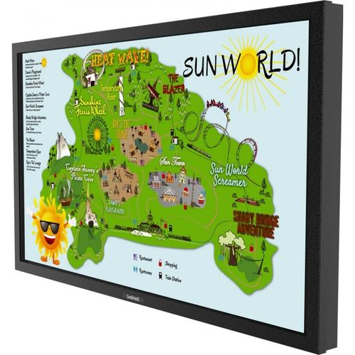 """55"""" Marquee Series Outdoor Digital Signage - Full Sun Ultra Bright - Landscape Orientation - DS-5525L"""