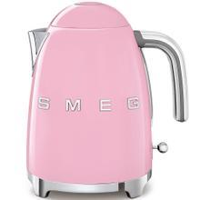 Smeg 50s Retro Style Design Aesthetic Electric Kettle, Pink