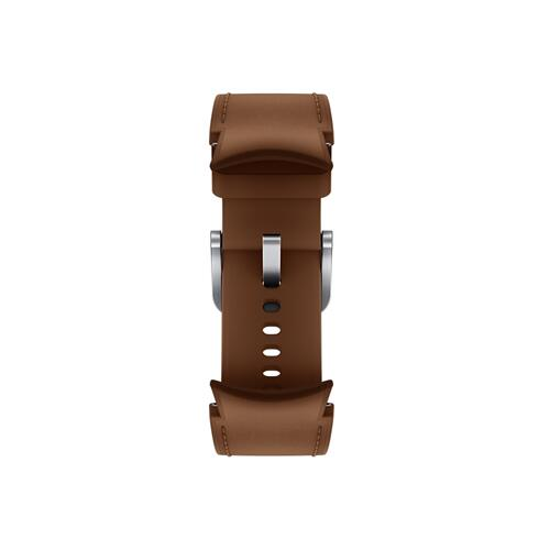 Samsung - Galaxy Watch4, Galaxy Watch4 Classic Hybrid Leather Band, M/L, Camel