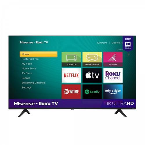 "55"" Class - R6 Series - 4k Ultra HD Hisense Roku TV SUPPORT"