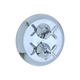 Hexa - Thermostatic Control Valve Trim - Polished Nickel
