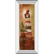 """Tribal Mother Il"" Mirror Framed Print Wall Art"