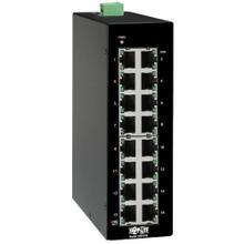 See Details - 16-Port Unmanaged Industrial Gigabit Ethernet Switch - 10/100/1000 Mbps, DIN Mount