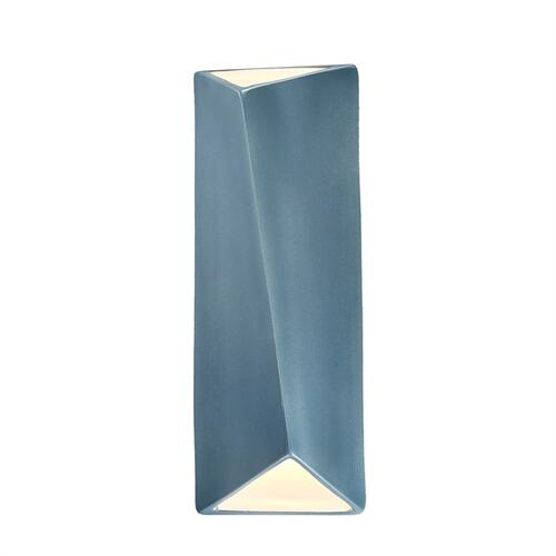 Large Diagonal Rectangle LED Wall Sconce (Open Top & Bottom)