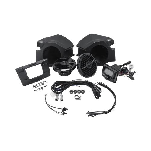 Rockford Fosgate - Stereo and front speaker kit for 2014-2018 Polaris® RZR® models