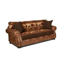See Details - Sleeper Sofa With 2 Pillows